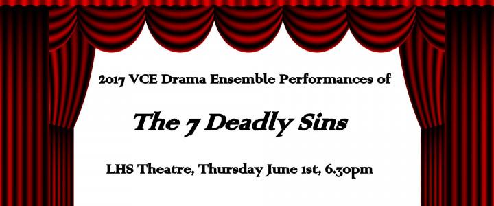 VCE Drama Ensemble Performances