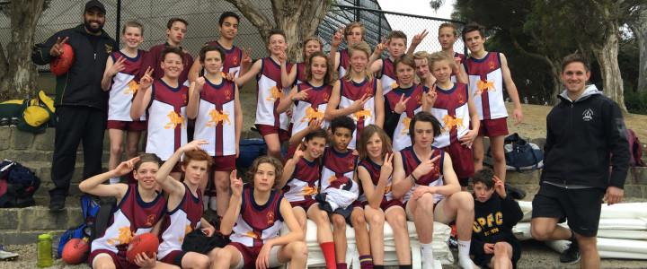 Year 7 Boys Football