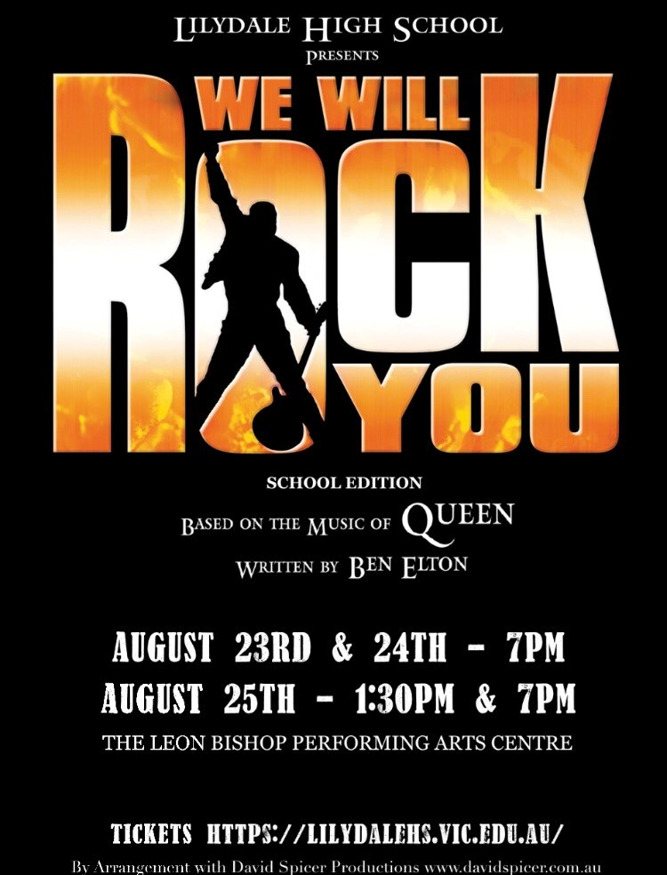 We Will Rock You – TICKETS ON SALE