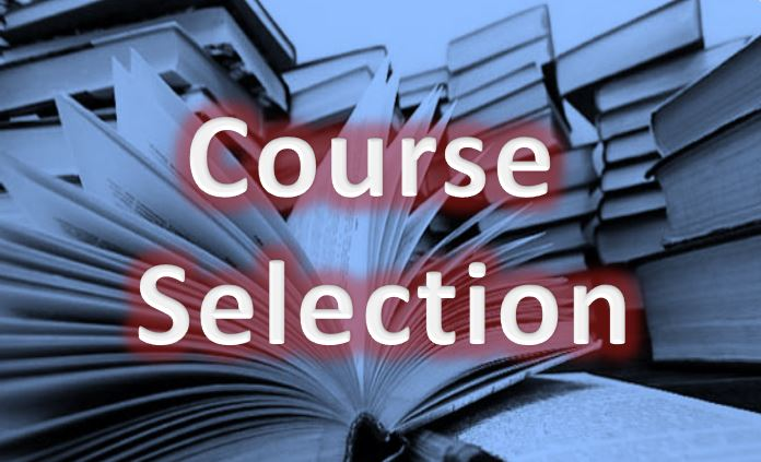 2019 Course Selection