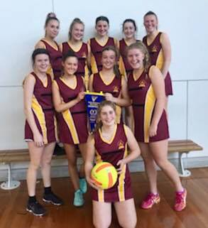 LHS Intermediate Girls Netball Region Champions
