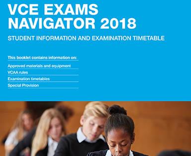 VCE Exams Navigator 2018