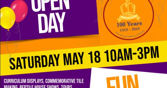 CENTENARY OPEN DAY
